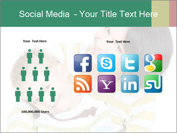 Bright picture of happy mother PowerPoint Template - Slide 5