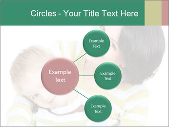 Bright picture of happy mother PowerPoint Template - Slide 79