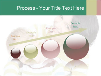Bright picture of happy mother PowerPoint Template - Slide 87