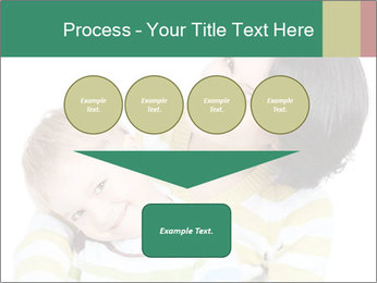 Bright picture of happy mother PowerPoint Template - Slide 93