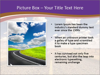 Road In Texas PowerPoint Template - Slide 13
