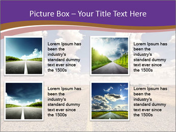 Road In Texas PowerPoint Template - Slide 14