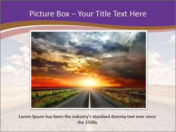 Road In Texas PowerPoint Template - Slide 15
