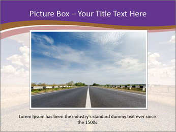 Road In Texas PowerPoint Template - Slide 16