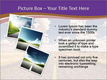 Road In Texas PowerPoint Template - Slide 17