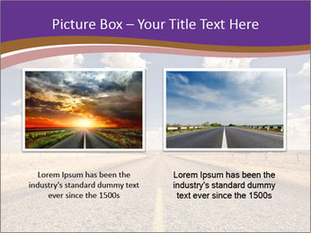 Road In Texas PowerPoint Template - Slide 18