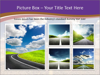 Road In Texas PowerPoint Template - Slide 19