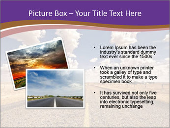 Road In Texas PowerPoint Template - Slide 20