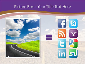 Road In Texas PowerPoint Template - Slide 21