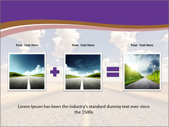Road In Texas PowerPoint Template - Slide 22
