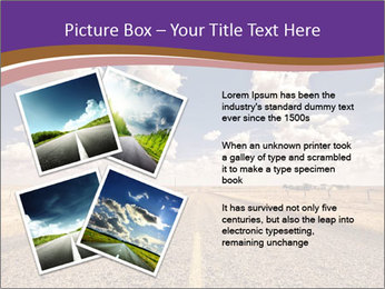Road In Texas PowerPoint Template - Slide 23