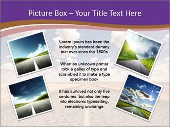 Road In Texas PowerPoint Template - Slide 24