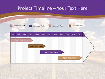 Road In Texas PowerPoint Template - Slide 25
