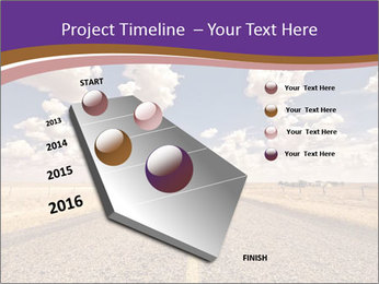 Road In Texas PowerPoint Template - Slide 26