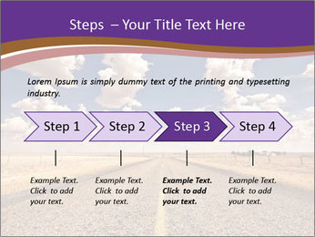 Road In Texas PowerPoint Template - Slide 4