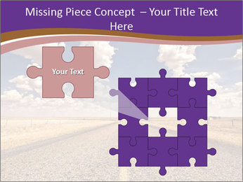 Road In Texas PowerPoint Template - Slide 45