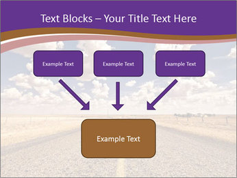 Road In Texas PowerPoint Template - Slide 70