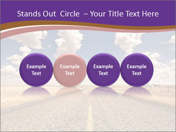 Road In Texas PowerPoint Template - Slide 76