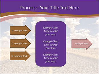 Road In Texas PowerPoint Template - Slide 85