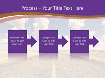 Road In Texas PowerPoint Template - Slide 88
