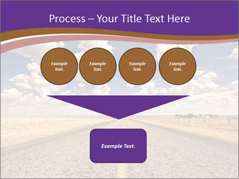 Road In Texas PowerPoint Template - Slide 93