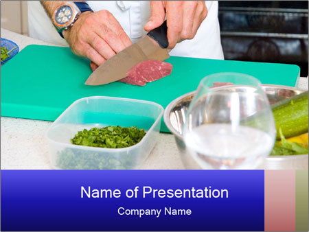Culinary Art PowerPoint Template