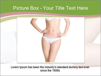 Slim Female Body PowerPoint Template - Slide 15