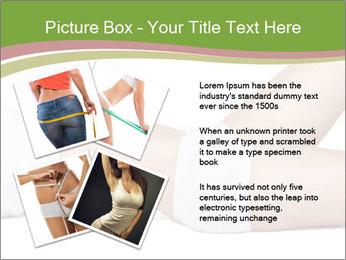 Slim Female Body PowerPoint Template - Slide 23