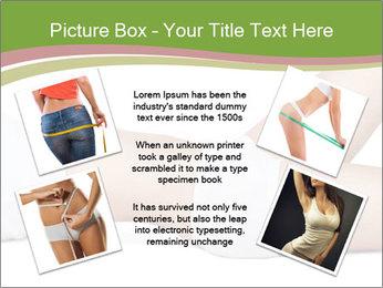 Slim Female Body PowerPoint Template - Slide 24