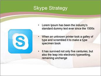 Slim Female Body PowerPoint Template - Slide 8