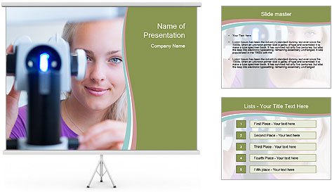 Ophthalmologist PowerPoint Template
