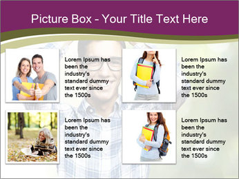 Student With Books PowerPoint Templates - Slide 14