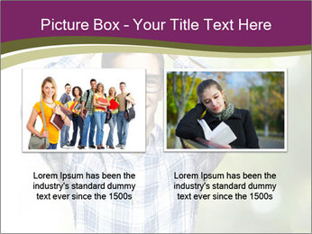 Student With Books PowerPoint Templates - Slide 18