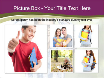Student With Books PowerPoint Templates - Slide 19