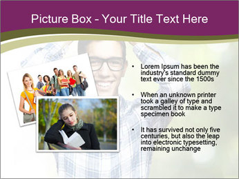 Student With Books PowerPoint Templates - Slide 20