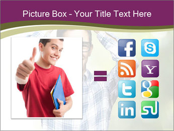 Student With Books PowerPoint Templates - Slide 21