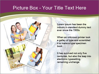 Student With Books PowerPoint Templates - Slide 23