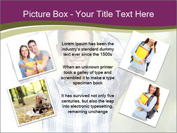 Student With Books PowerPoint Templates - Slide 24