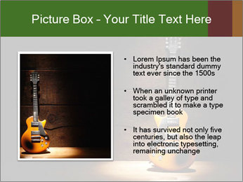 Electric guitar PowerPoint Templates - Slide 13