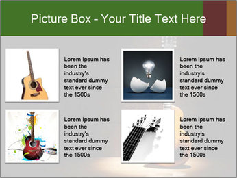 Electric guitar PowerPoint Templates - Slide 14