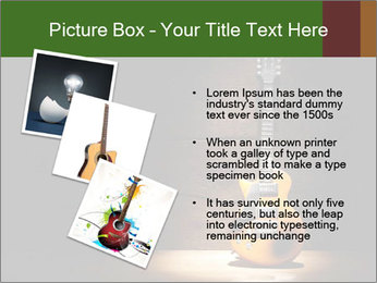 Electric guitar PowerPoint Templates - Slide 17