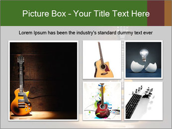 Electric guitar PowerPoint Templates - Slide 19