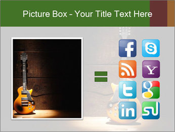 Electric guitar PowerPoint Templates - Slide 21