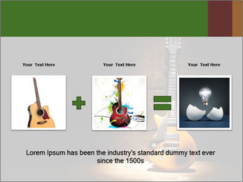 Electric guitar PowerPoint Templates - Slide 22
