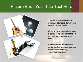 Electric guitar PowerPoint Templates - Slide 23