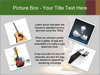 Electric guitar PowerPoint Templates - Slide 24