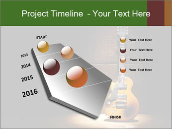 Electric guitar PowerPoint Template - Slide 26