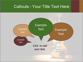 Electric guitar PowerPoint Templates - Slide 73