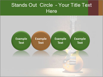 Electric guitar PowerPoint Templates - Slide 76