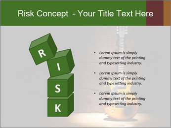 Electric guitar PowerPoint Templates - Slide 81